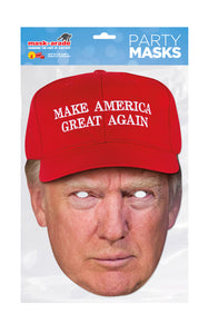 Donald Trump Make America Great Again Official Celebrity Face Masks