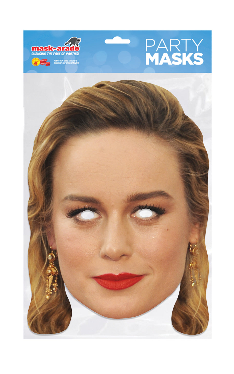Brie Larson Official Celebrity Face Mask