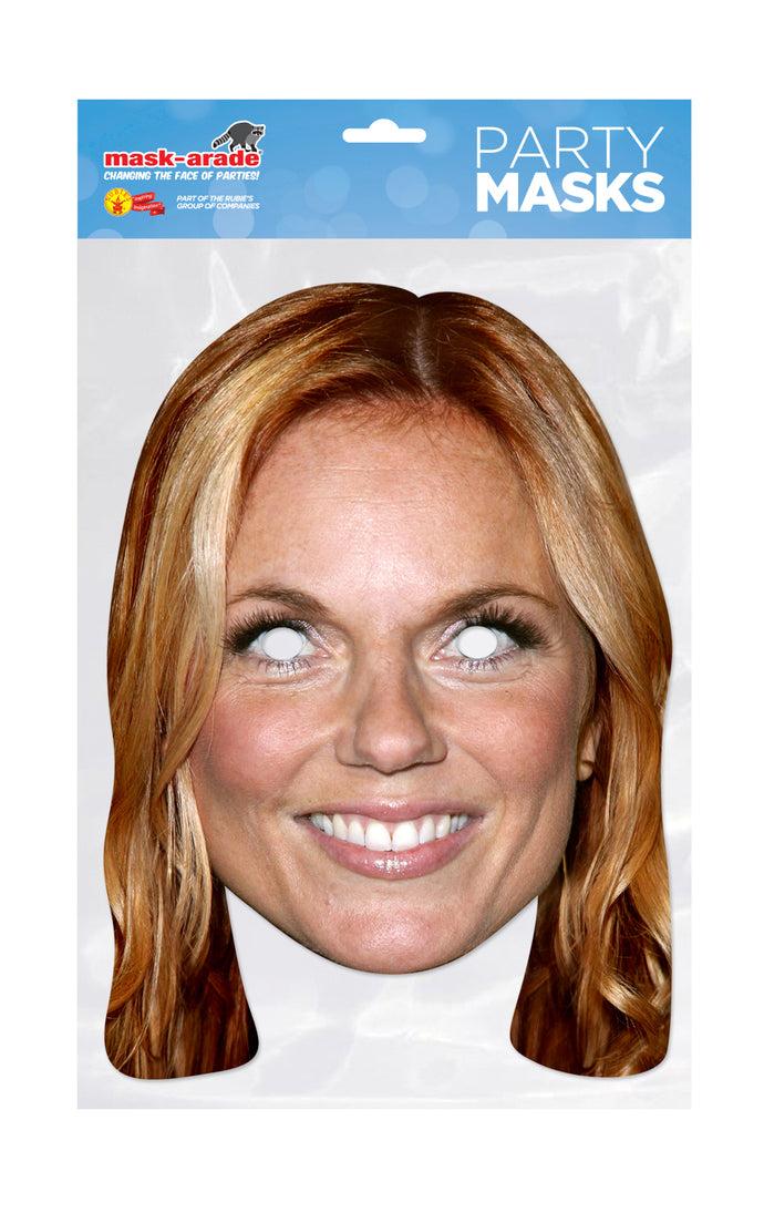 Geri Halliwell Spice Girl Official face mask