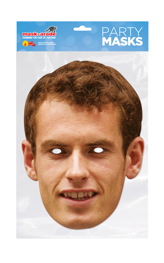 Andy Murray Tennis Player Official Face Mask