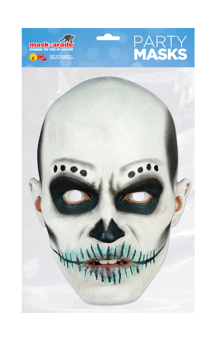 Day of the Dead aka Dia de los Muertos Official Face Mask