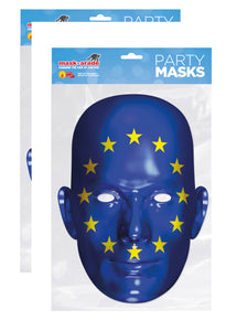 Two European Union Flag Face Mask