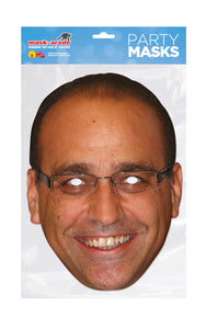 Theo Paphitis Official fancy dress Face Mask