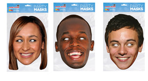 The Olympians fancy dress face masks