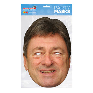 Alan Titchmarsh Official fancy dress Face Mask