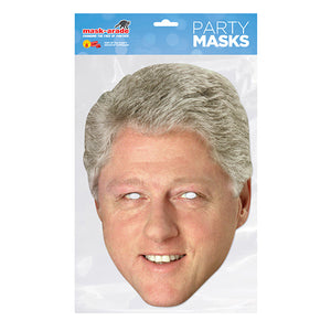 Bill Clinton Official President fancy dress Face Mask