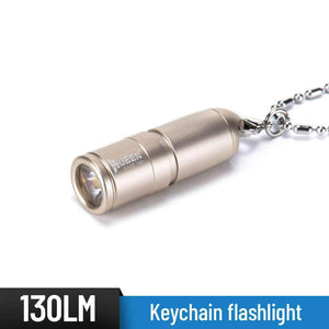 WUBEN 130 Lumens Mini 10180 Li-ion battery USB rechargeable Keychain light - WUBEN