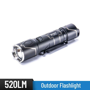 WUBEN I332 520 Lumens 16340 battery outdoor Flashlight - WUBEN
