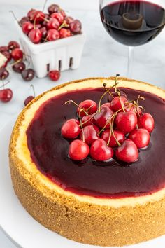 Red Wine Chocolate Cheesecake | Food and Wine This Weekend | Cebene