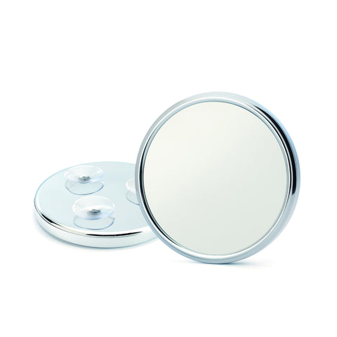 Pictured: The SP2 5x magnification shaving mirror with suction cups by MÜHLE