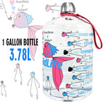 BuildLife 1 Gallon Water Bottle  3.78L/128OZ BPA Free