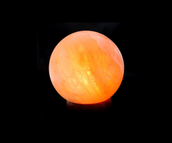 "Himalayan Salt Lamp - Ball Shape - 4.5''/ 8""  Diameter"