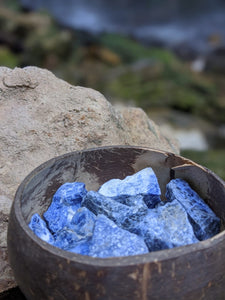 Sodalite Crystal Chips
