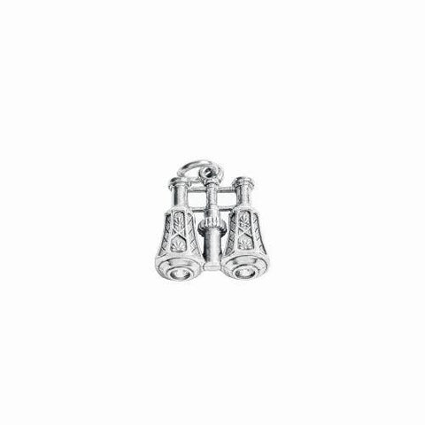 Beaucoup Designs Aimez Opera Glasses Charm Sterling Silver plated Made in USA