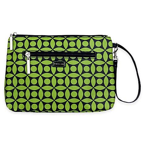 Kalencom Green Clover Diaper Clutch Bag