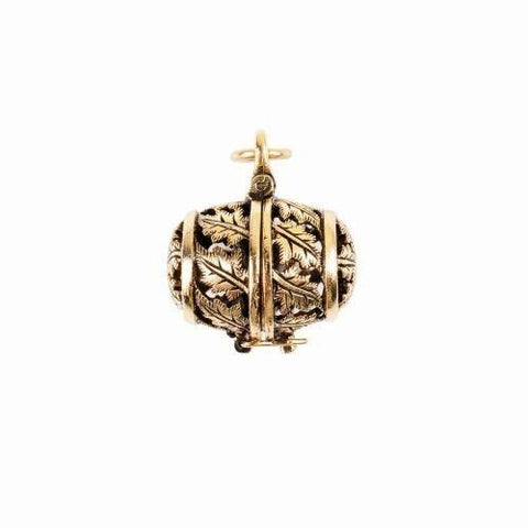 Beaucoup Designs Aimez Esperiez Garden Hope Keeper Charm 14K gold plated Made in USA