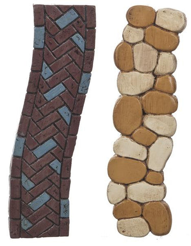 Ganz Miniature Brick or Stone Walkway for Fairy Garden