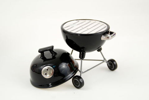 Charcoal Grill Salt Pepper Set New Barbecue