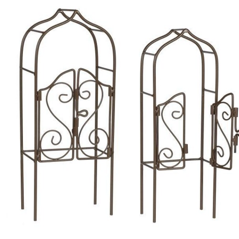 Ganz Mini Trellis Gate For Fairy Garden  10