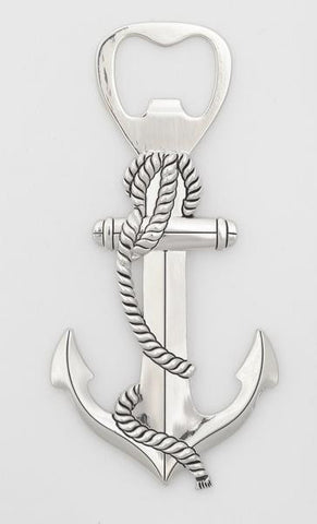 Ganz Anchor and Rope Zinc Handheld Bottle Opener Brand New in Gift Box