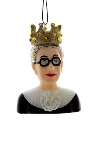 Notorious RBG Christmas Ornament