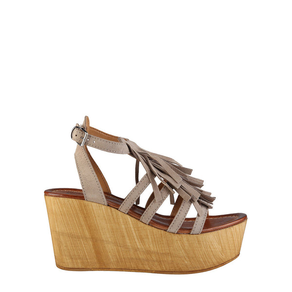 Ana Lublin Women's Suede Wedges - ADELIA