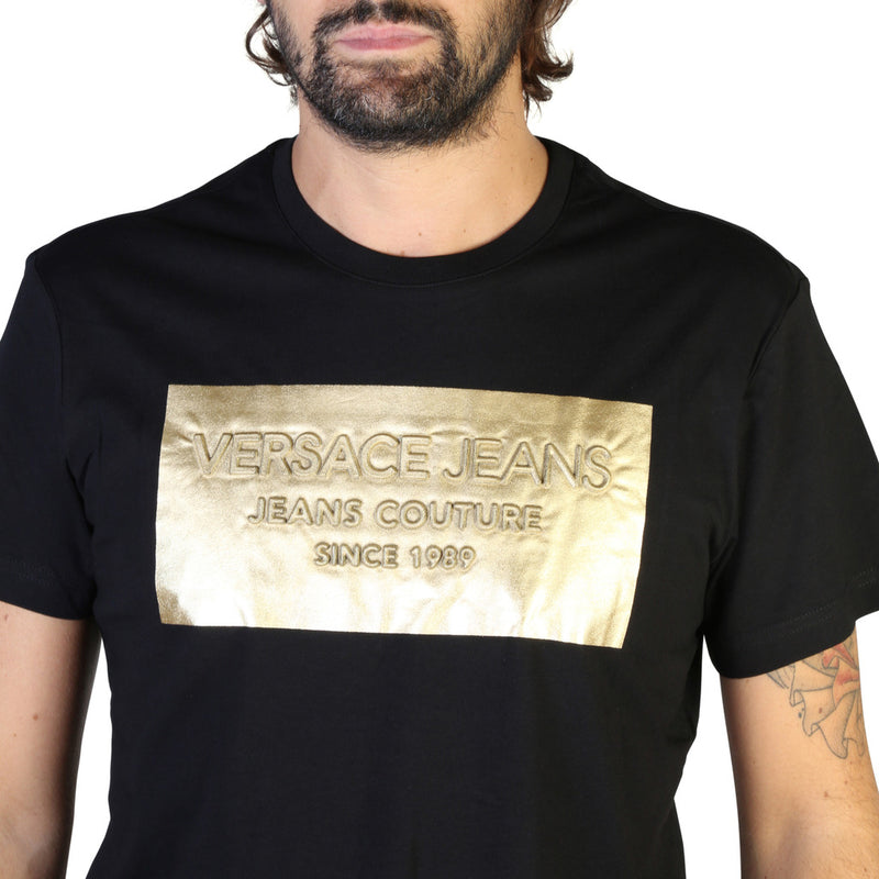 Versace Jeans Men's Short Sleeve T-shirt - B3GTB74D_36590