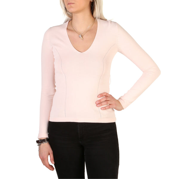Guess Women's Long Sleeve V-Neck Sweater - 82G509_5423Z