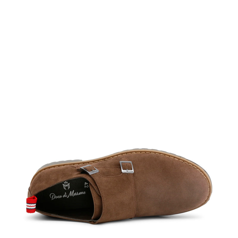 Duca di Morrone Men's Double Buckles Flat shoes - RAMSEY
