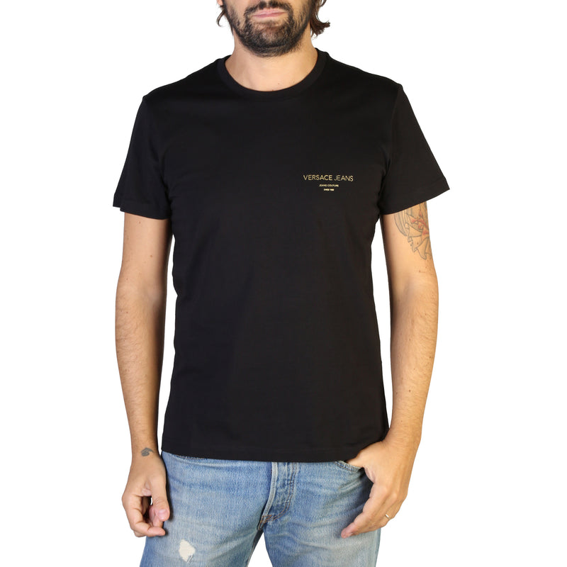 Versace Jeans Men's Short Sleeve T-shirt - B3GTB76R_36610