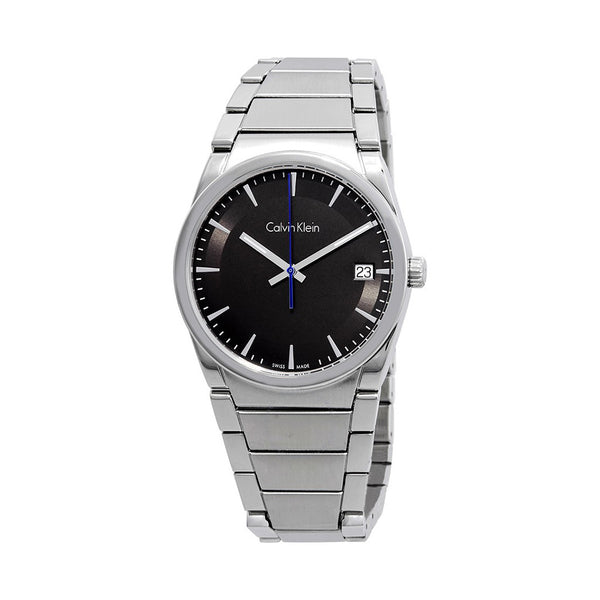 Calvin Klein Men's Steel Strap Grey Quartz Analog Watch - K6K311