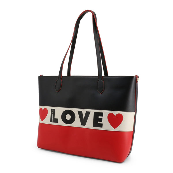 Love Moschino Women's Zip Closure Shopping Bag - JC4228PP08KD