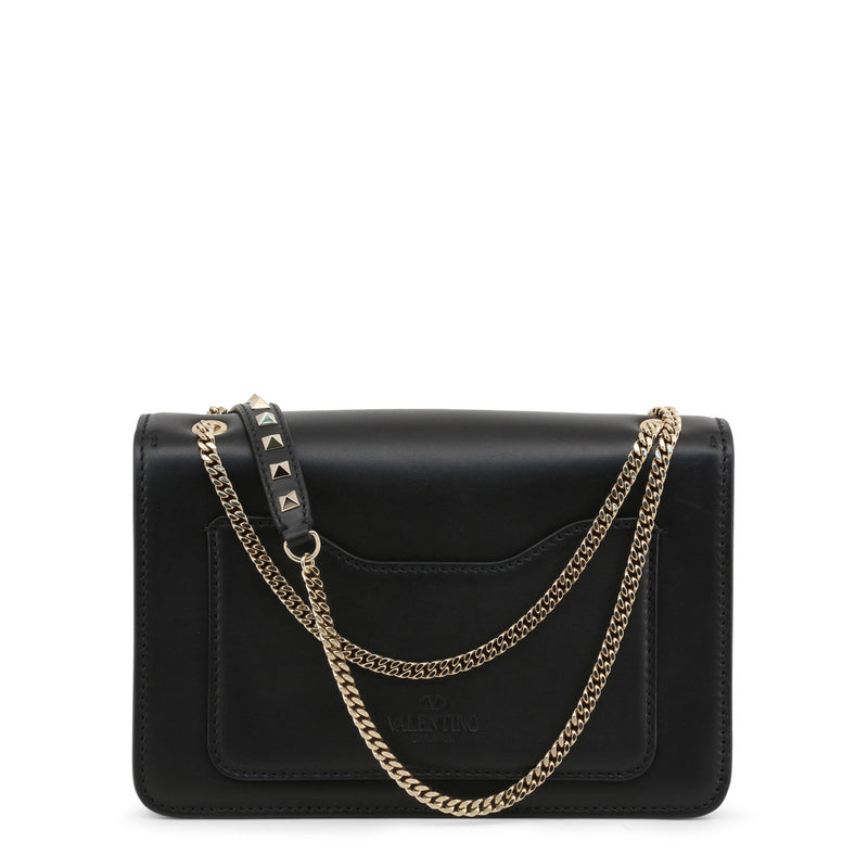 Valentino Women's Snap Closure Leather Crossbody Bag - NW0B0A80PCR
