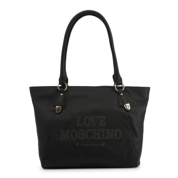 Love Moschino Women's Zip Closure Shopping Bag - JC4285PP08KN