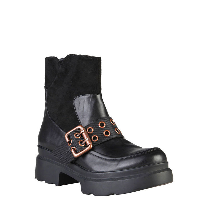 Ana Lublin Women's Ankle Boots with Buckle - KARIN