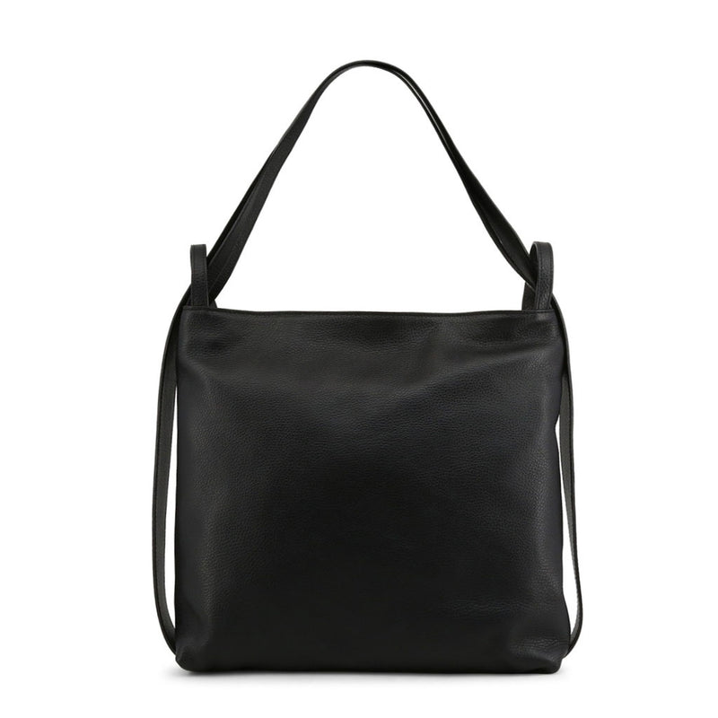 Made in Italia Women's Zip Closure Leather Shoulder Bag - MADDALENA