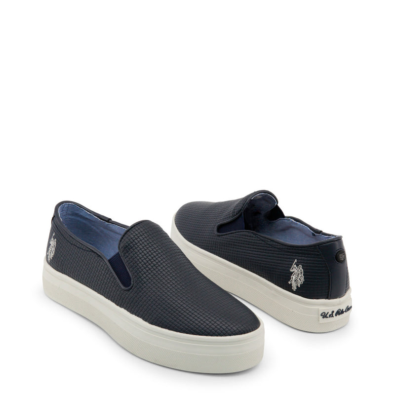 U.S. Polo Assn. Women's Wedge Slip-On Sneakers - TRIXY4155S7_YL3