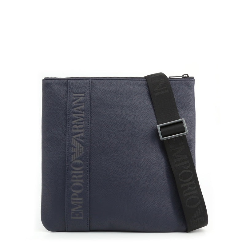 Emporio Armani Men's Zip Closure Crossbody Bag - Y4M176_YG89J
