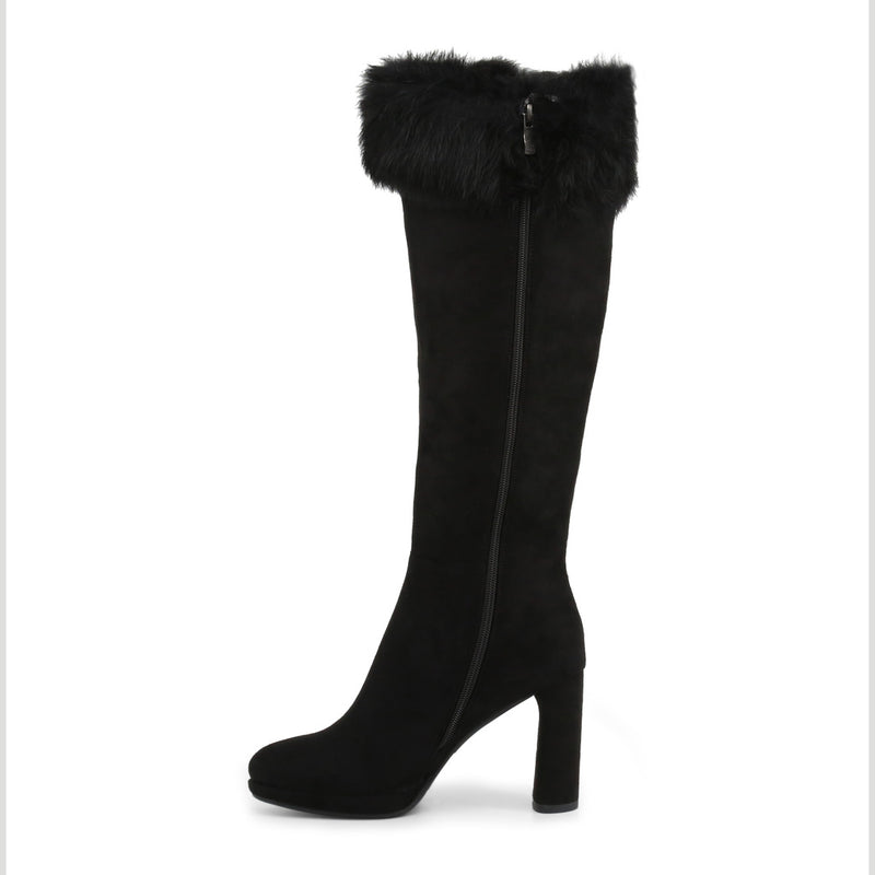 Laura Biagiotti Women's Boots With Side Zip - 5847-19_MICRO-FUR