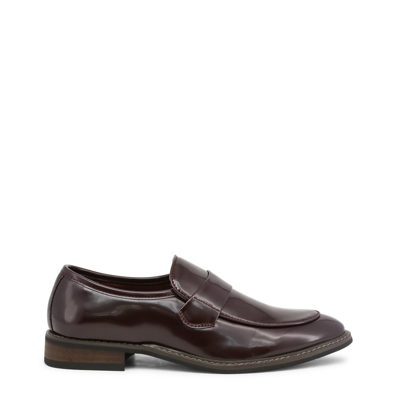 Duca di Morrone Men's Polished Effect Moccasins - ANDY