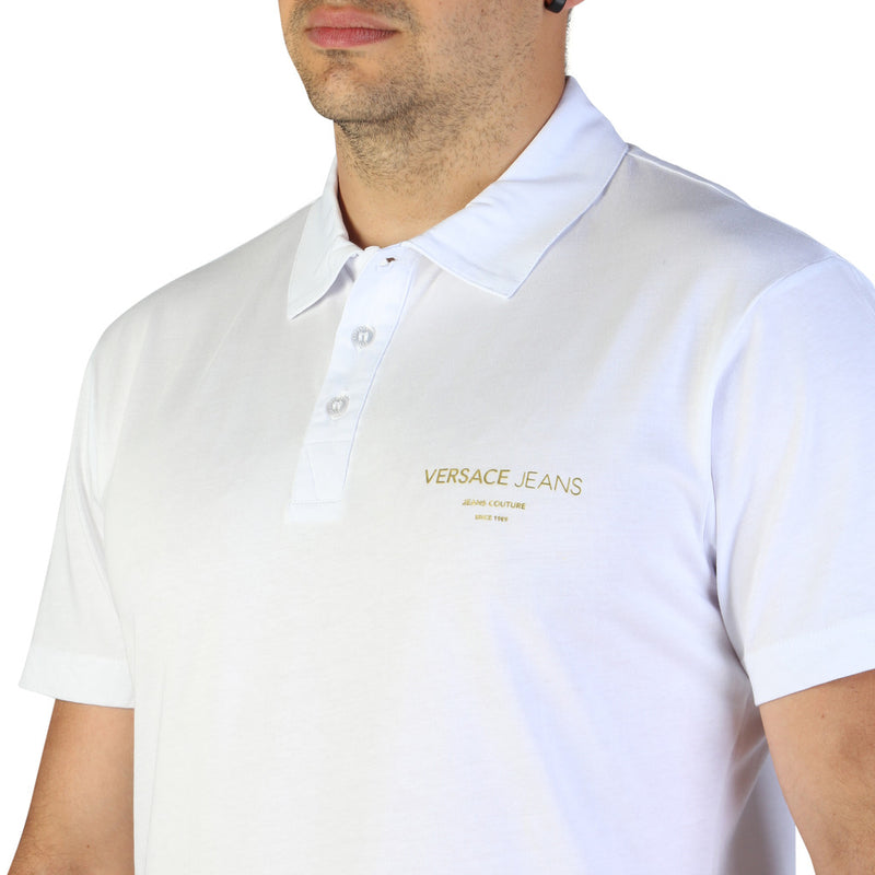 Versace Jeans Men's Short Sleeve Polo shirt - B3GTB7P7_36610