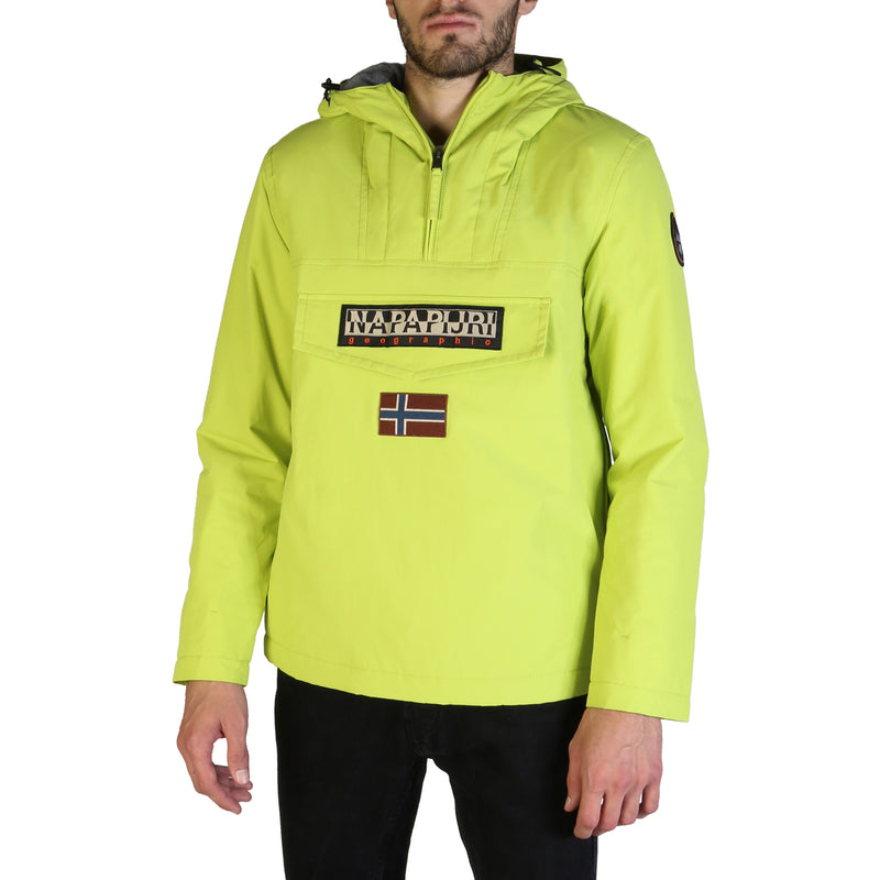 Napapijri Men's Long Sleeve Bomber - RAINFOREST_N0YGN