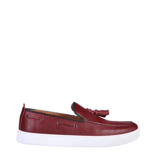 Pierre Cardin Men's Leather Moccasins With Nappins - BERNARD