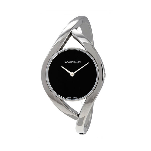Calvin Klein Women's Steel Strap Grey Quartz Analog Watch - K8U2M