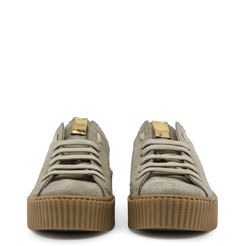 Ana Lublin Women's Suede Wedge Sneakers - ESTELA