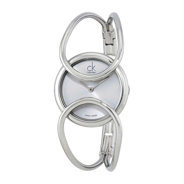 Calvin Klein Women's Steel Strap Grey Quartz Analog Watch - K4C2M1