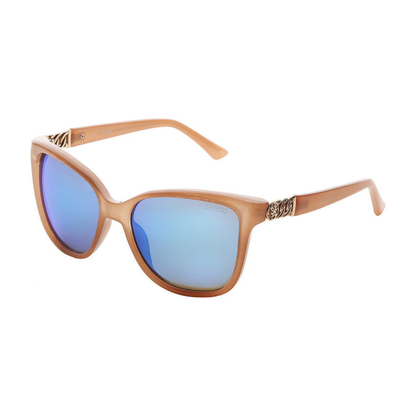 Guess Women's Acetate Mirrored Sunglasses - GU7385