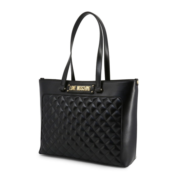 Love Moschino Women's Zip Closure Shopping Bag - JC4003PP18LA