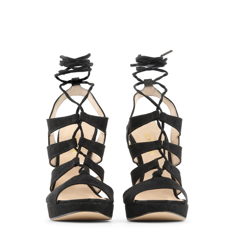 Made in Italia Women's Side Buckle Leather Sandals - FLAMINIA