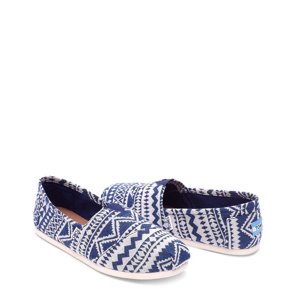 TOMS Men's Slip-On Shoes - WOV-CULTURAL_10008368